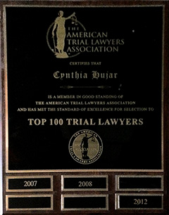 American Trial Lawyers Association - Top 100 Trial Lawyers