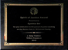 NACDL - Spirit of Justice Award