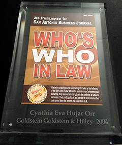 San Antonio Business Journal - Who's Who in Law (Sculpture)