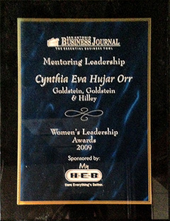 San Antonio Business Journal - Women's Leadership Award