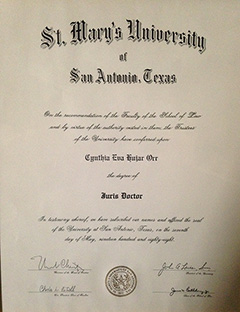 St. Mary's University - Juris Doctor