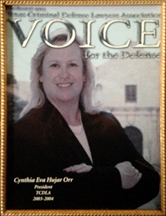 TCDLA - Voice for the Defense Cover