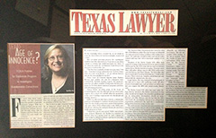 Featured in Texas Lawyer