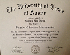 University of Texas - Bachelor of Business Administration