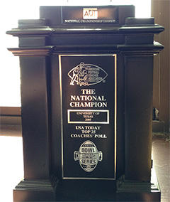 American Football Coaches Association - National Champion