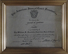 American Inns of Court Foundation - Master