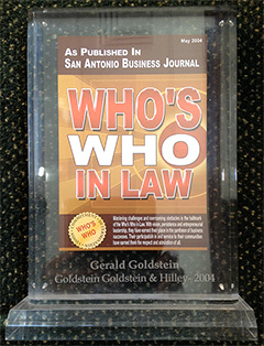 San Antonio Business Journal - Who's Who in Law