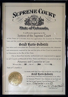 State Bar of Colorado - Admission to Practice