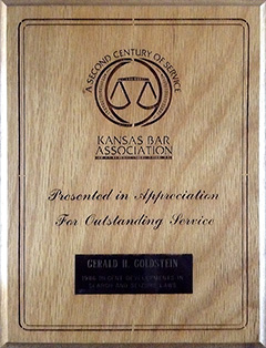 Kansas State Bar - Outstanding Service: Recent Developments in Search and Seizure