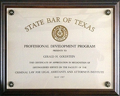 State Bar of Texas - Professional Development: Criminal Law