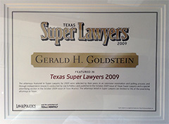Featured in Super Lawyers
