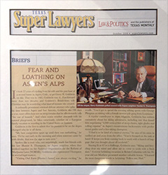 Super Lawyers Brief