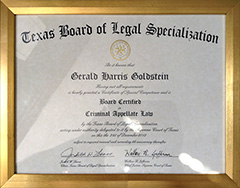 Texas Board of Legal Specialization - Criminal Appellate Law Certification