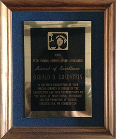 TCDLA - Award of Excellence