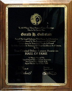 TCDLA - Hall of Fame