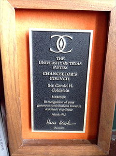 University of Texas - Chancellor's Council