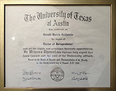 University of Texas - Juris Doctor