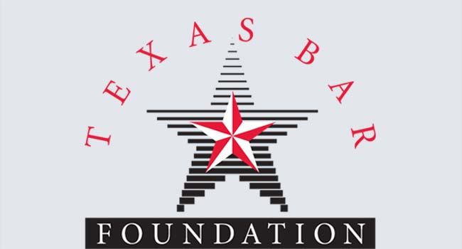 TEXAS BAR FOUNDATION GIVES GERRY GOLDSTEIN STATEWIDE RECOGNITION